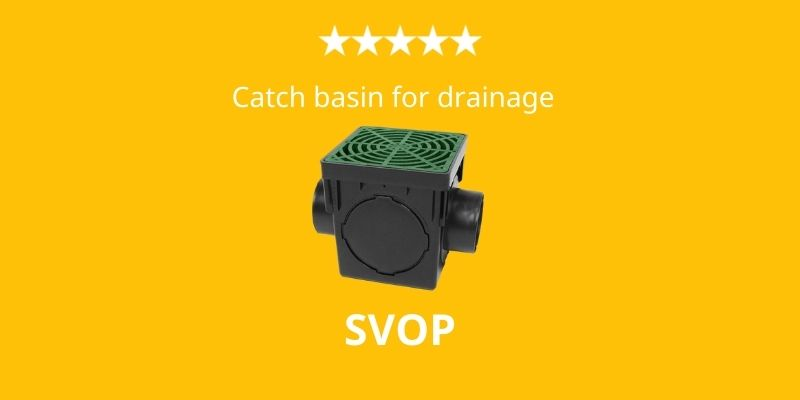 best catch basin for drainage